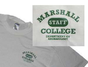 Indiana Jones Marshall College Dept Archaeology T Shirt