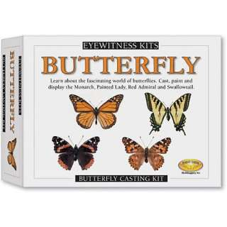 Eyewitness Kit Butterfly Casting Kit, Monarch, Painted Lady