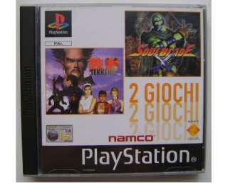 Tekken 3 2 Giochi in 1 PlayStation SLES 02088 PS PS1 PS2 PS3 PSX Paul