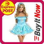 Fancy Dress Disney Inspired Halloween Costume Outfit+Tiara