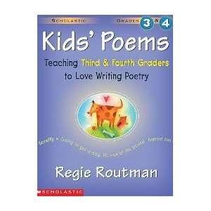 Scholastic 978 0 590 22735 3 Kids Poems   Grades 3 & 4