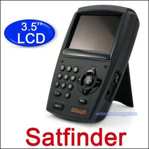 Satellite Sat Anlage HD Digtial Handheld Sat Finder digital Neu