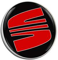 Seat New Red Logo Pin Badge Choice of Gold/Silver