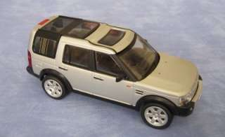 LAND ROVER DISCOVERY   SILVER   NEW 1:32 SCALE MODEL
