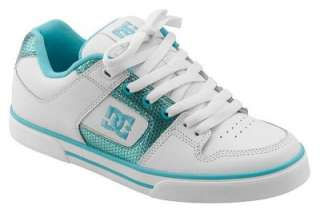 DC SHOES WOMENS PURE WHITE WHITE OCEAN LADIES SHOES