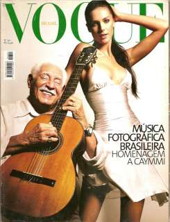VOGUE BRAZIL 2003   ANA HICKMANN / KATE MOSS / RAQUEL ZIMMERMANN