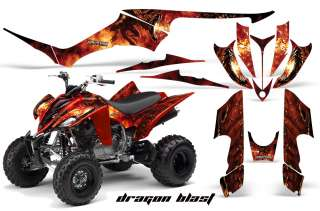 YAMAHA RAPTOR 350 GRAPHICS KIT DECALS STICKERS DB