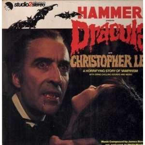 DRACULA LP (VINYL) UK EMI 1974 CHRISTOPHER LEE Music