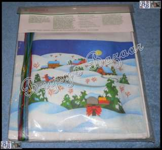QUILTED CHRISTMAS EVE Crewel Stitchery Kit – L. Gillum