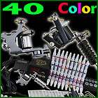 kit tatuaje 3 top maquinas 28 tintas tatuar tattoo A217