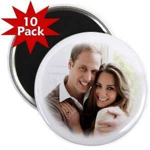 Creative Clam Prince William Kate Middleton Royal Wedding 10 pack Of 2