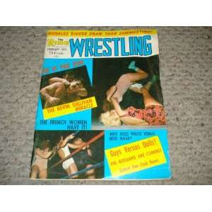 THE RING WRESTLING MAGAZINE   FEBURARY 1972   KEVIN