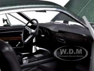 1968 FORD MUSTANG GT BULLITT STEVE MCQUEEN GREEN 1/18