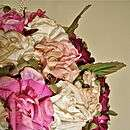 victorian roses flower ball wedding bouquet by susannah dashwood