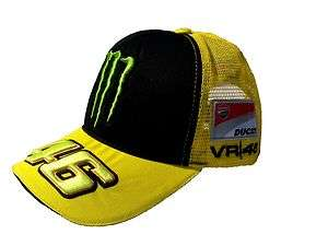 Valentino Rossi VR46 Monster Ducati mesh hat cap MotoGP