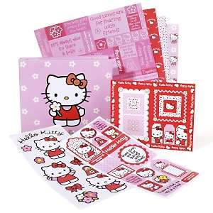 Hello Kitty Scrapbook Theme Pack with Album at HSN