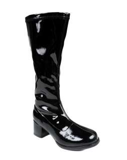 / Disco / Girls Black GoGo Boots