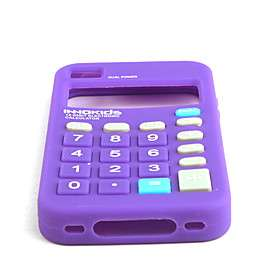 US$ 5.09   Novelty High quality Silica Gel Soft Calculator Case for