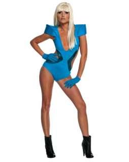 Lady Gaga Blue Swimsuit Adult Costume  Wholesale TV & Movie Halloween