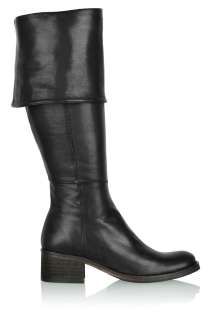 Black Over Knee Flat Boot by Mentor   Black   Buy Boots Online at my