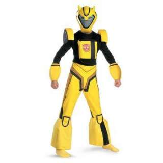 Transformers Animated Bumblebee Deluxe Child Costume   Includes