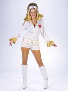 Adult Sexy Female Elvis Costume   Elvis Presley Costumes   15FW101104
