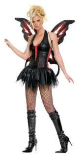 Adult Sexy Gothic Fairy Costume   Sexy Fairy Costumes   15UA83190
