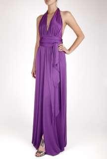Halston Heritage  Iris Iconic Full Length Halter Dress by Halston