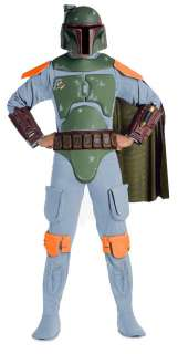 Star Wars Boba Fett Deluxe Adult Costume   Includes Jumpsuit with EVA