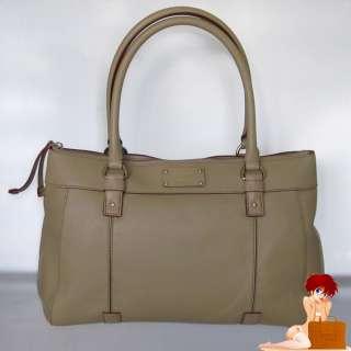 Authentic Kate Spade Teegan Berkshire Road Palamino Tan Leather