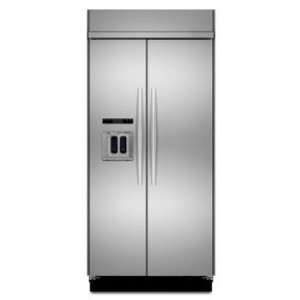 com KitchenAid 25.3 Cu. Ft. Stainless Steel Side By Side Refrigerator
