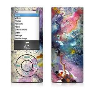 Flower Design Decal Sticker for Apple iPod Nano 5G (5th Generation