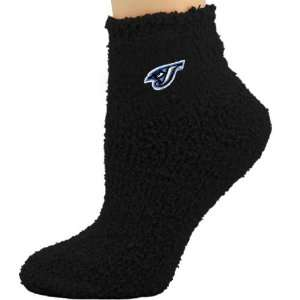 Blue Jays Ladies Black Sleepsoft Ankle Socks