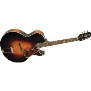 The Loar Lh 350 Archtop Cutaway Acoustic Guitar Sunburst