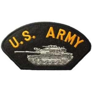 U.S. Army Tank Hat Patch 2 3/4 x 5 1/4 Patio, Lawn