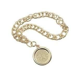 Marquette   Charm Bracelet   Gold