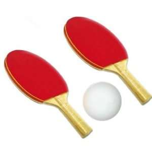 Ping Pong Paddles with Ball, Table Tennis Racquets Bat, 2 player set