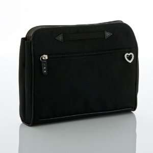 Big Timer Transfer Bag   Solid Black with Rhinestones