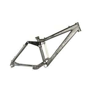 DeeLux Full Suspension Mountain BIke Frame 15 Black