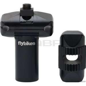 Flybikes Micro 25.4 Flat Black Seatpost