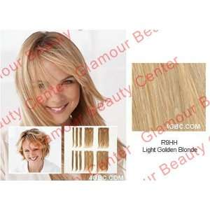Hair Clip in Extensions R9HH Light Golden Blonde 14 10pc. Beauty