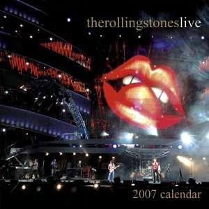 Rolling Stones 2007 Calendar (9781897195550) Books