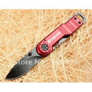 red bull folding pocket knife blade camping hunting fishing outdoor