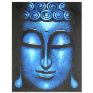 Calm Like Ocean~Bali Buddha Paintings~Canvas~New Art: Home & Kitchen