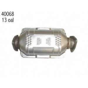 82 83 VOLVO 240 SERIES CATALYTIC CONVERTER, DIRECT FIT, 4
