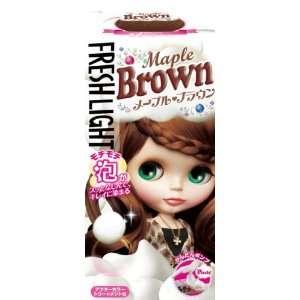 FLESH LIGHT AWA Type Hair Color  Maple Brown