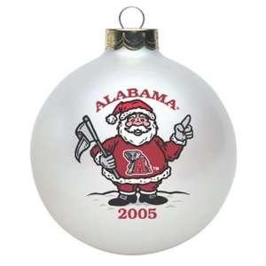 Alabama Crimson Tide 2005 Collectors Series Santa Ornament