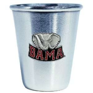 Alabama Crimson Tide NCAA Stainless Shot Sports