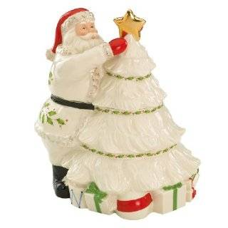 Lenox Christmas Tree Sweet Family Cookie Jar Kitchen & Dining