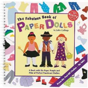 The Fabulous Book Of Paper Dolls Kit  (K4631) Arts, Crafts & Sewing